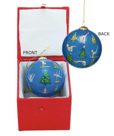 Little Gymnasts Christmas Ball