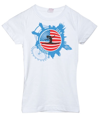 London USA Girly Tee