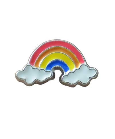 Rainbow Floating Charm