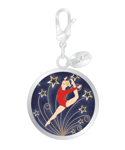 Shooting Star Leap Ball Charm