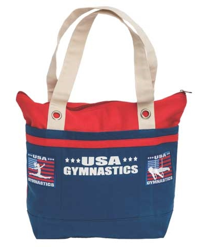 USA Gymnastics Canvas Bag FREE SHIPPING