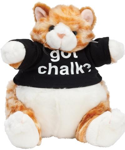 Got Chalk Tumblin Tabby