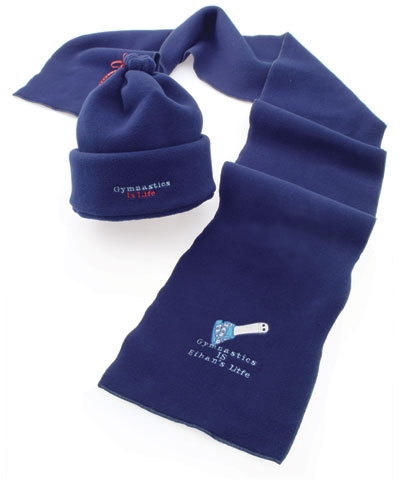 Personalized Gymnastics Is Life Hat And Scarf