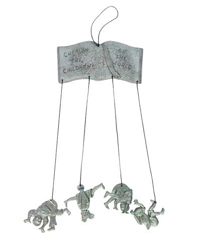 Tumble Wind Chime-Pewter