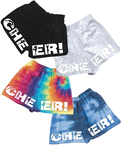 Cheer V-Notch Shorts FREE SHIPPING