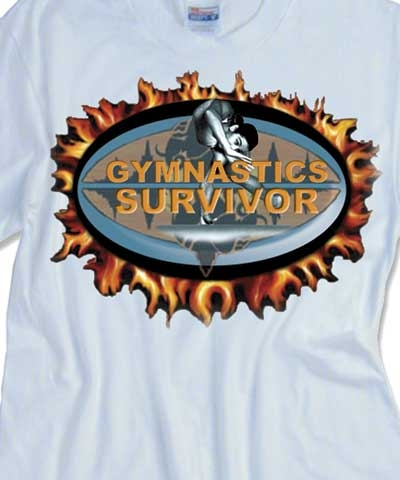 Female Gymnastics Survivor Tee FREE SHIPPING