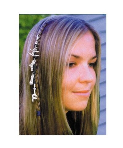 Hair Braid Charm Ten O Bygmr