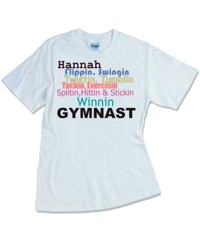 Personalized Winnin' Gymnast Tee