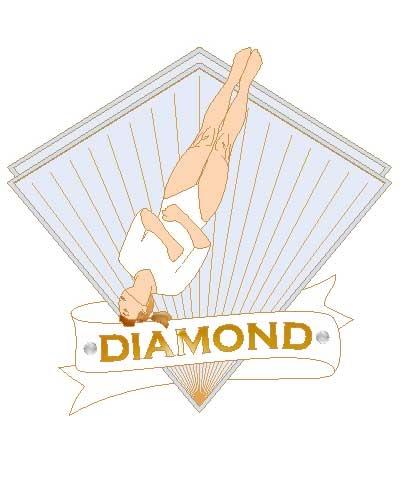 Xcel Diamond Twist Pin