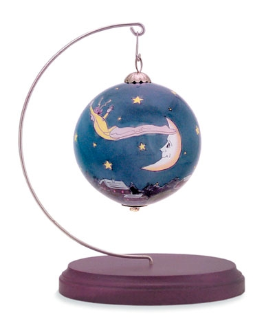 Christmas Night Dive Roll Ornament only FREE SHIPPING