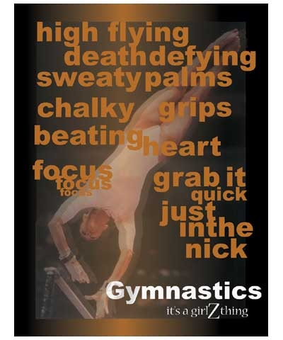 Gymnastics It's a GirlZthing Poster