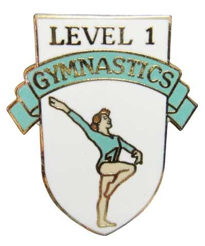 Level 1 Gymnastics Pin