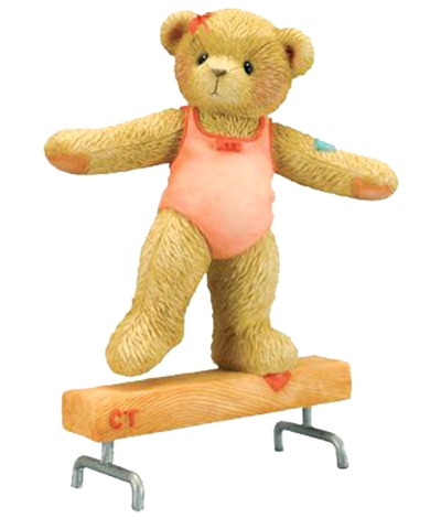 "Cherished Teddies ""Timberle"" On The Beam"