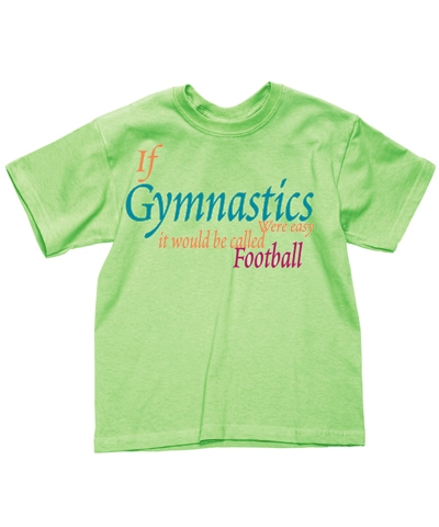 Citrus Gym Football Tee