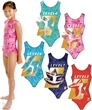 Level 6 Aqua Leotard