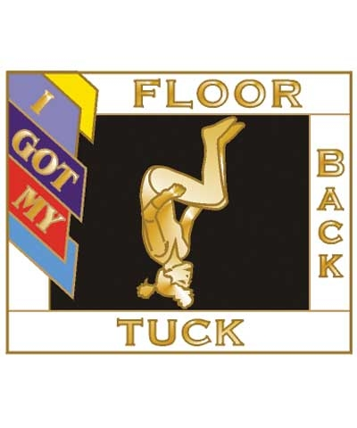 I Got My Back Tuck Floor Pin