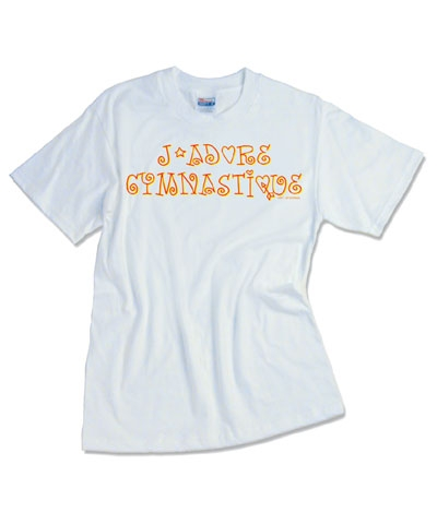 J'adore Gymnastique Tee FREE SHIPPING