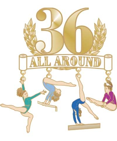 36 All Around Dangle Pin