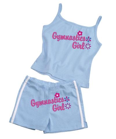 Gymnastics Girl Spaghetti Strap Top