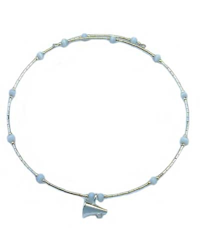 Megaphone Link Choker Necklace