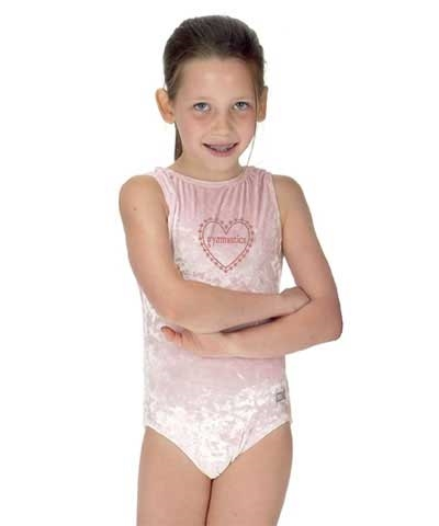 Sparkly Gymnastic Heart Leo