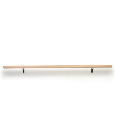4 Ft Non-Adjustable Wall Ballet Barre FREE SHIPPING