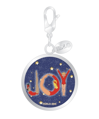 Joy To Gymnastics Ball Charm