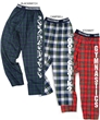 Customized Flannel Gym Jammies FREE SHIPPING