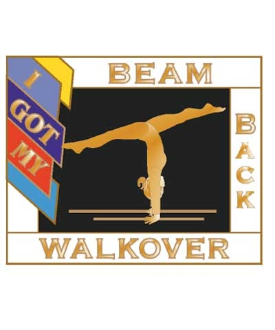 I Got My Back Walkover Beam Pin