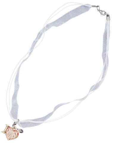 Love Gymnastics Heart Necklace