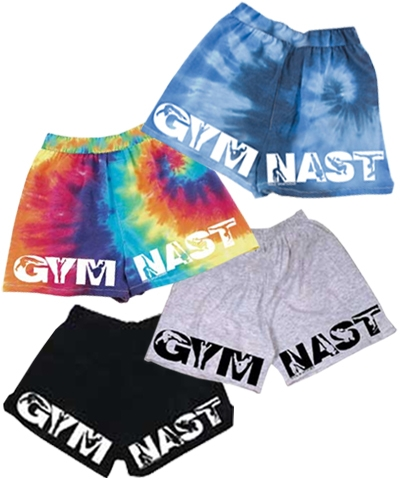 Gymnast V-Notch Shorts