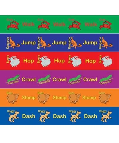 Animal Moves Activity Strips Set/6