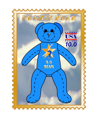 9.0 Beam Beamie Bear Pin