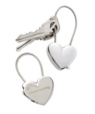 Cheer Heart Keychain