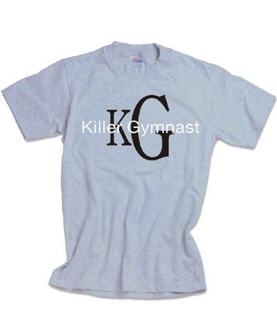 Killer Gymnast Ash Tee