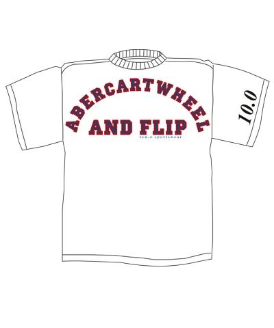 Abercartwheel & Flip Fridge Magnet