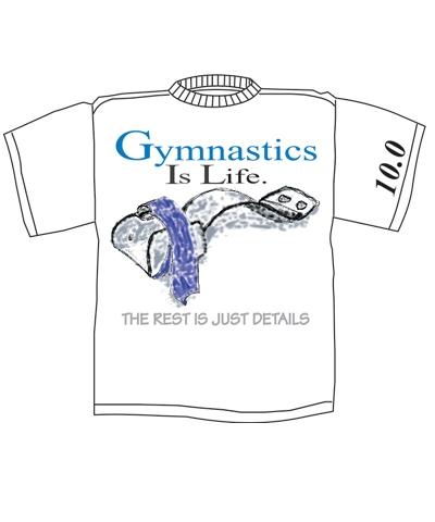 Gym Life Fridge Magnet