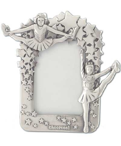 Cheerleader Pewter Frame