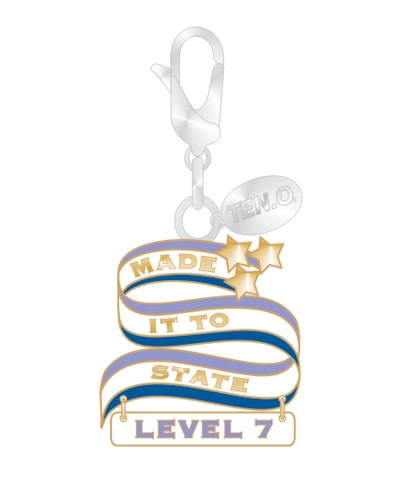 Gym Charm - Made It To State Level 7