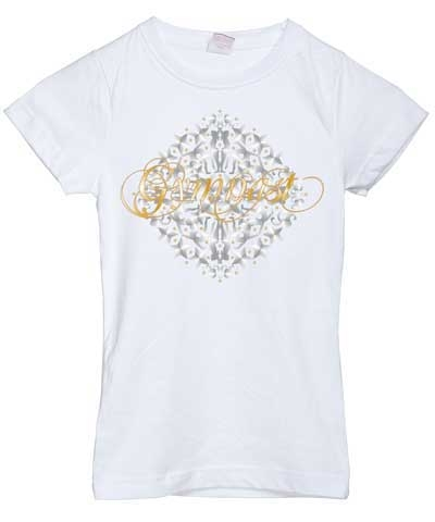 Gymnast Medallion Girly Tee