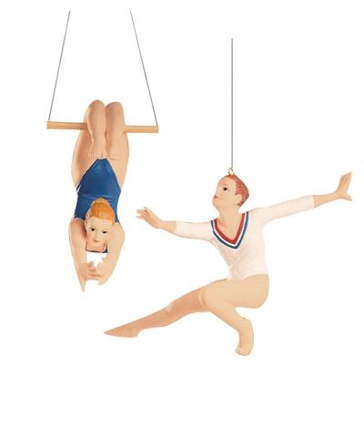 Gymnastics Christmas Ornament Set - TEN-O | ByGMR