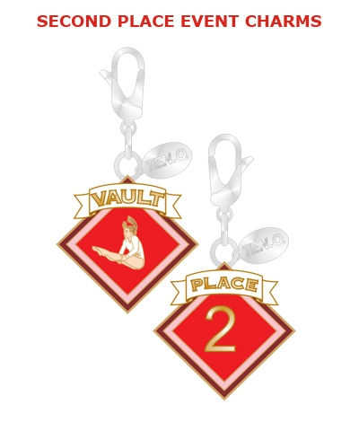 Gym Charm - 2nd Place Vault FREE SHIPPING