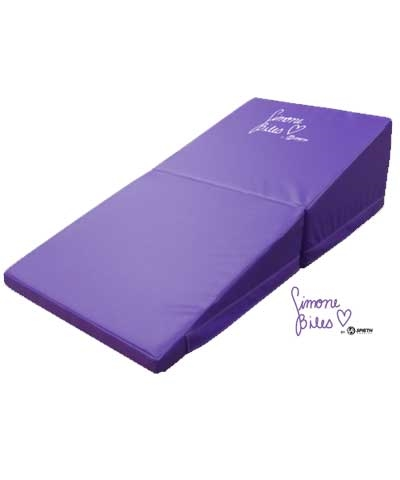 "Simone Biles 24""x48""x12"" Purple Folding Incline"