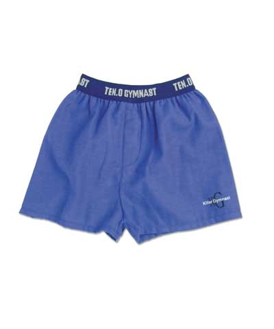 Blue Killer Gymnast Boxer Shorts FREE SHIPPING