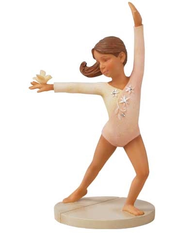 Gymnast Figurine by Enesco®