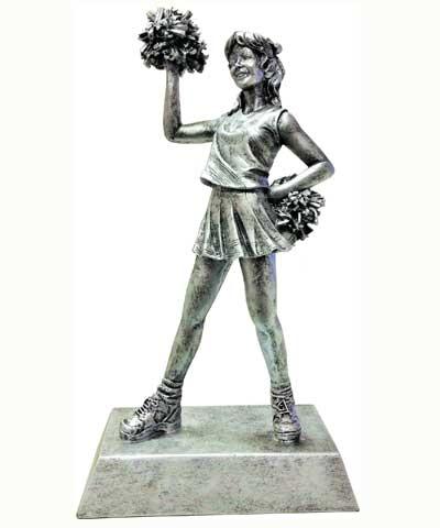 Silver Cheer Sculpture