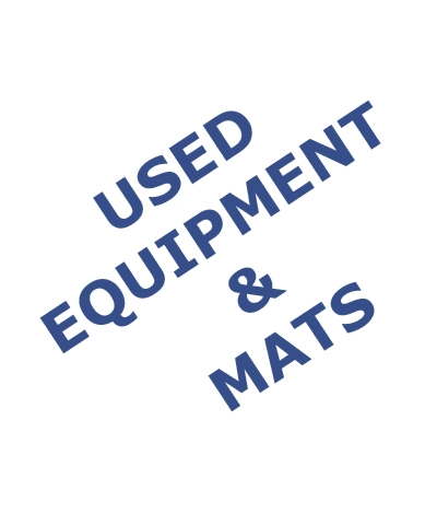 Used Equipment & Mats