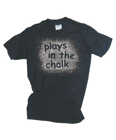Plays In The Chalk Tee FREE SHIPPING