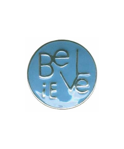 Snap Button Charm - Believe