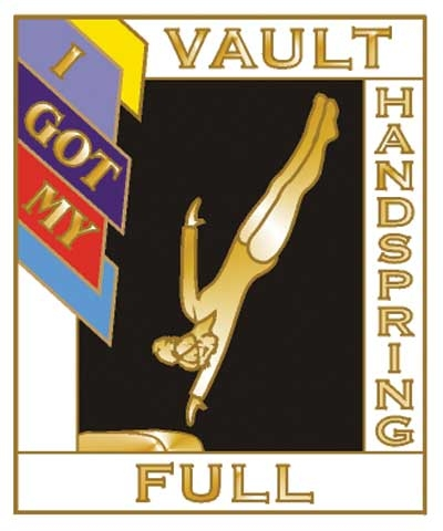 I Got My Handspring Full Vault Pin